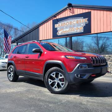 2014 Jeep Cherokee for sale at Harborcreek Auto Gallery in Harborcreek PA