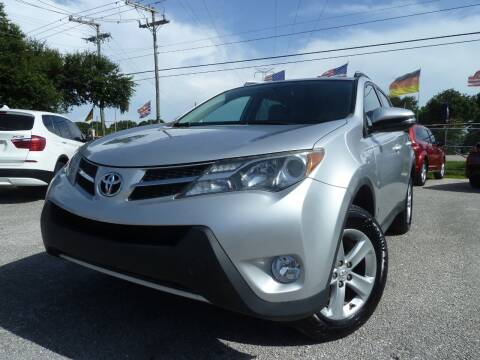 2013 Toyota RAV4 for sale at Das Autohaus Quality Used Cars in Clearwater FL