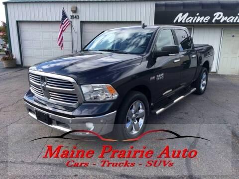2017 RAM Ram Pickup 1500 for sale at Maine Prairie Auto INC in Saint Cloud MN