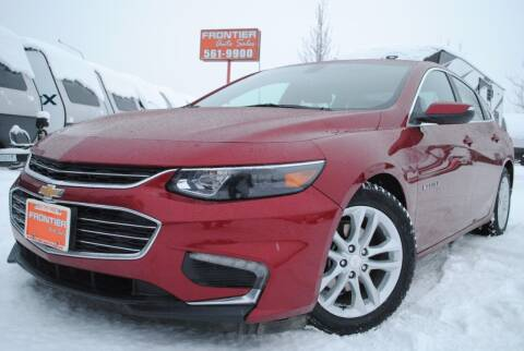 2017 Chevrolet Malibu for sale at Frontier Auto & RV Sales in Anchorage AK