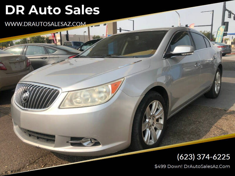 2013 Buick LaCrosse for sale at DR Auto Sales in Glendale AZ