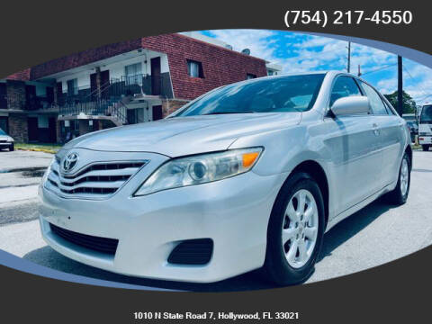 2011 Toyota Camry for sale at Meru Motors in Hollywood FL