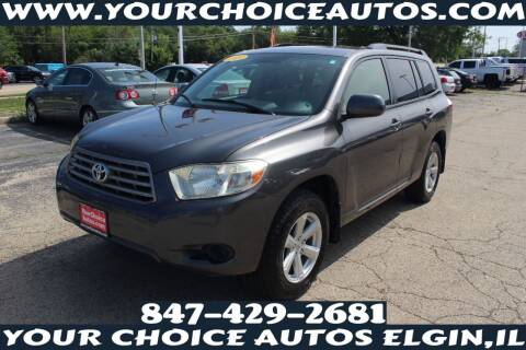 2009 Toyota Highlander for sale at Your Choice Autos - Elgin in Elgin IL