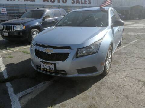 2011 Chevrolet Cruze for sale at Best Deal Auto Sales in Stockton CA