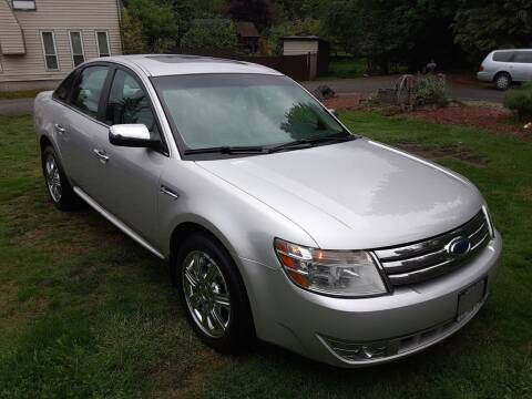 2008 Ford Taurus for sale at METROPOLITAN MOTORS in Kirkland WA