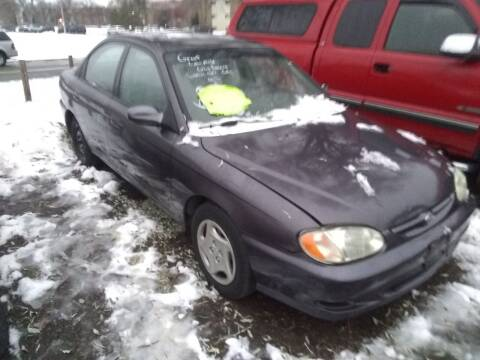 2000 Kia Sephia for sale at Continental Auto Sales in White Bear Lake MN
