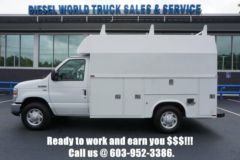 2013 Ford E-Series Chassis for sale at Diesel World Truck Sales in Plaistow NH