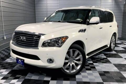 2014 Infiniti QX80 for sale at TRUST AUTO in Sykesville MD