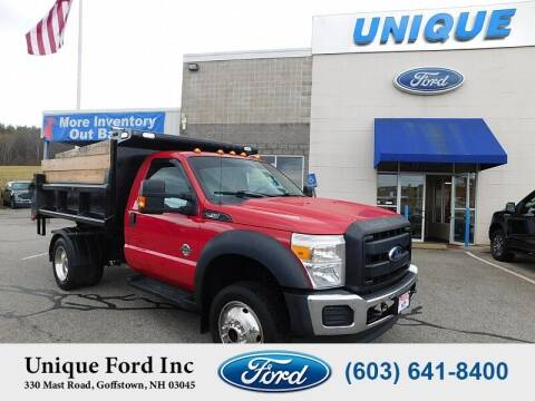 2014 Ford F-550 Super Duty for sale at Unique Motors of Chicopee - Unique Ford in Goffstown NH