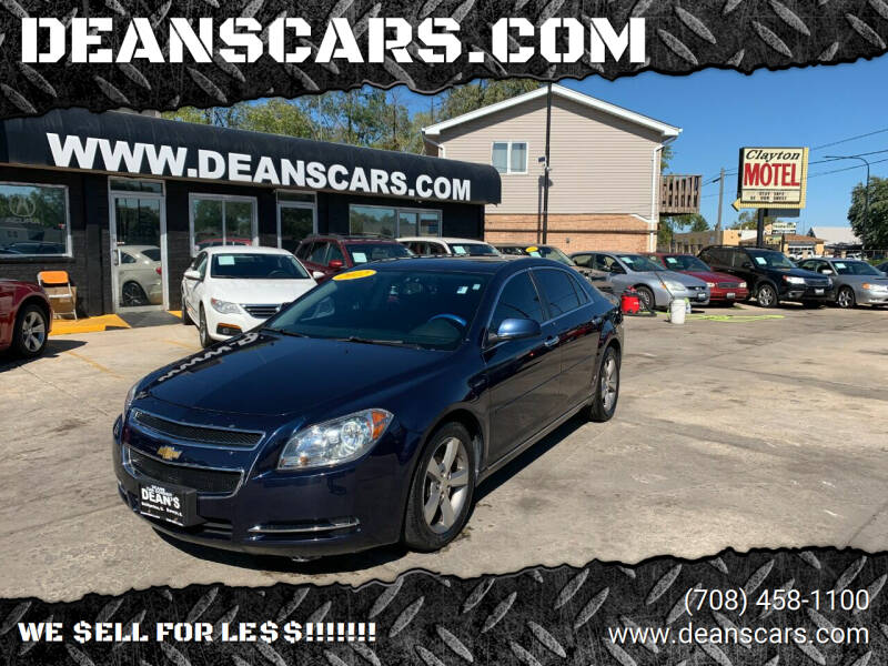 2012 Chevrolet Malibu for sale at DEANSCARS.COM in Bridgeview IL