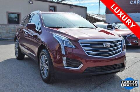 2018 Cadillac XT5 for sale at LAKESIDE MOTORS, INC. in Sachse TX