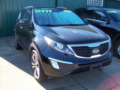 2012 Kia Sportage for sale at Summit Auto Inc in Waterford PA