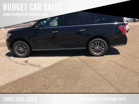 2019 Ford Expedition MAX for sale at BUDGET CAR SALES in Amarillo TX