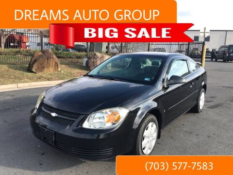 2009 Chevrolet Cobalt for sale at Dreams Auto Group LLC in Sterling VA