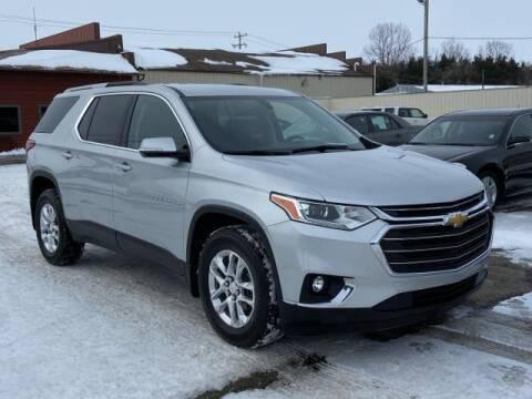 2018 Chevrolet Traverse for sale at Miller Auto Sales in Saint Louis MI