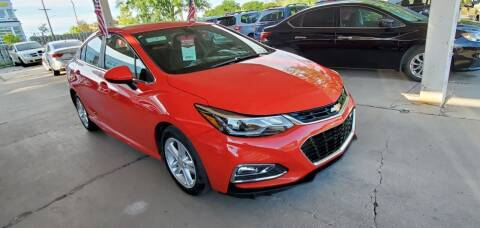 2016 Chevrolet Cruze for sale at Divine Auto Sales LLC in Omaha NE