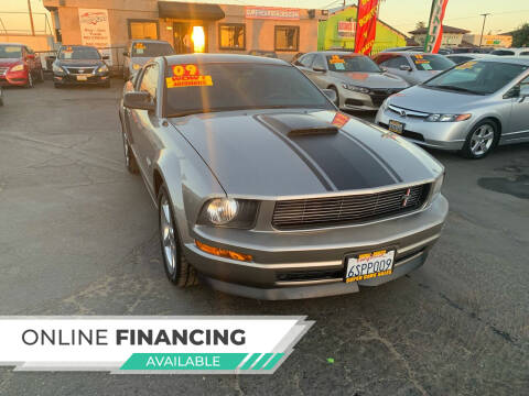 2009 Ford Mustang for sale at Super Cars Sales Inc #1 - Super Auto Sales Inc #2 in Modesto CA