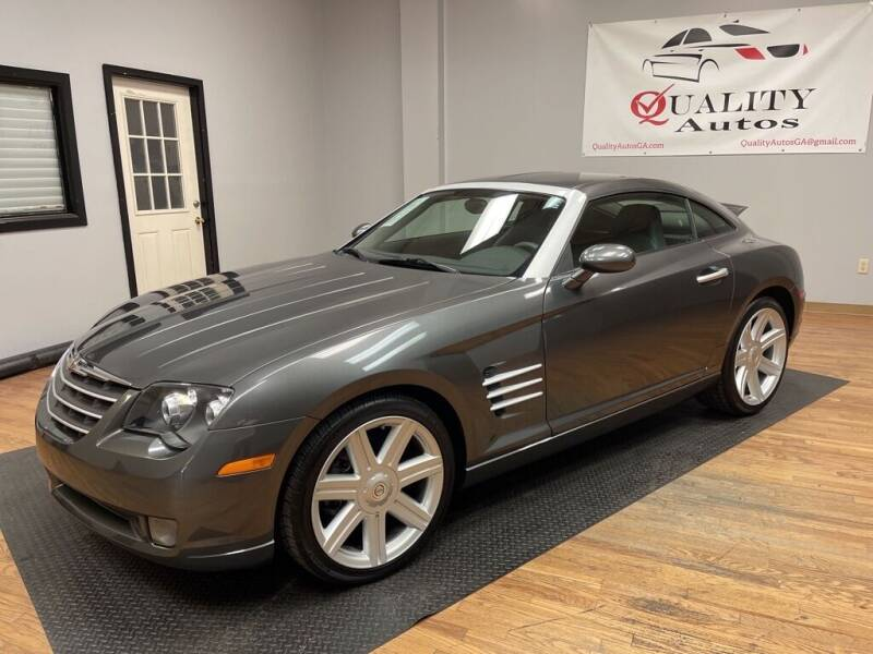 2004 Chrysler Crossfire for sale at Quality Autos in Marietta GA