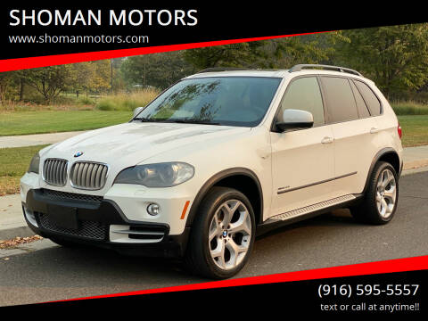 2010 BMW X5 for sale at SHOMAN MOTORS in Davis CA