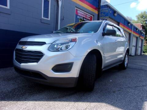 2016 Chevrolet Equinox for sale at Allen's Pre-Owned Autos in Pennsboro WV