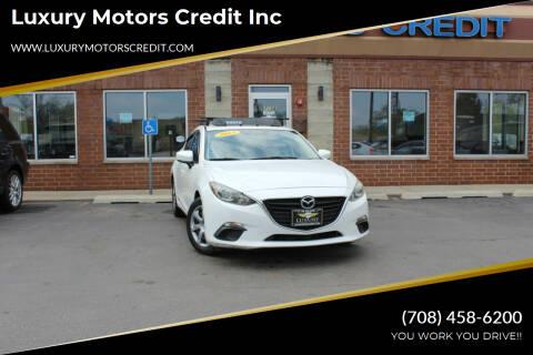 2014 Mazda MAZDA3 for sale at Luxury Motors Credit Inc in Bridgeview IL