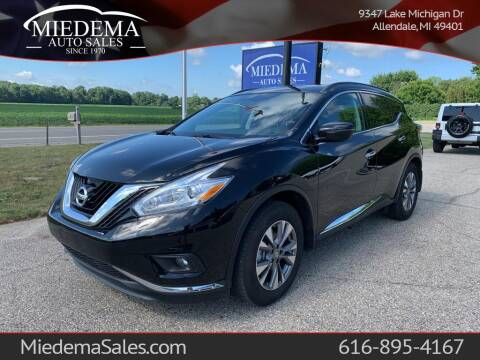 2016 Nissan Murano for sale at Miedema Auto Sales in Allendale MI