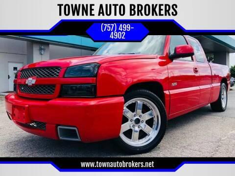 2003 Chevrolet Silverado 1500 SS for sale at TOWNE AUTO BROKERS in Virginia Beach VA