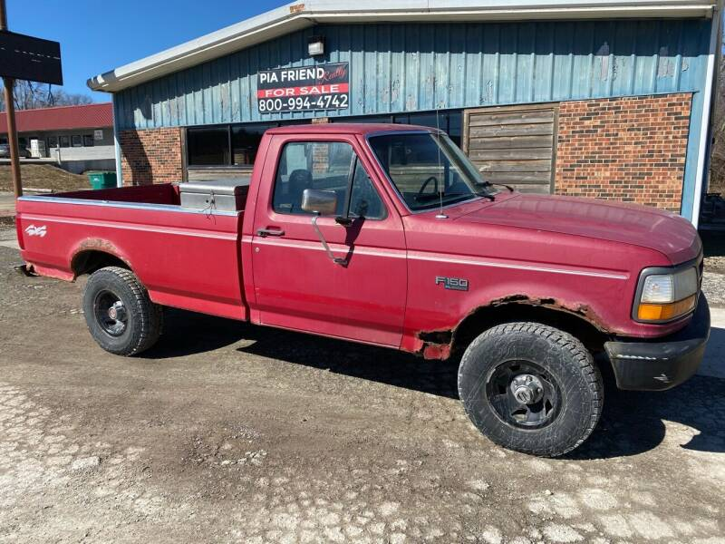 1994 Ford F-150 for sale at Kansas Car Finder in Valley Falls KS