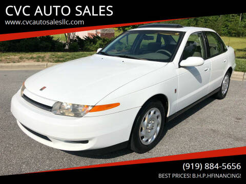 2000 Saturn L-Series for sale at CVC AUTO SALES in Durham NC