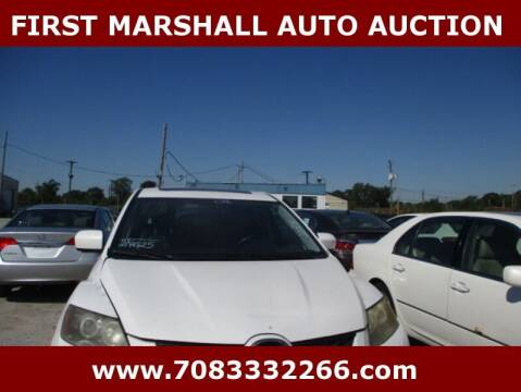 2008 Mazda CX-7 for sale at First Marshall Auto Auction in Harvey IL