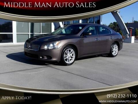 2012 Nissan Maxima for sale at Middle Man Auto Sales in Savannah GA