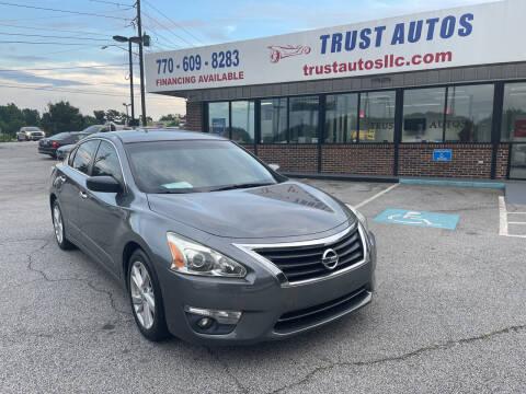2015 Nissan Altima for sale at Trust Autos, LLC in Decatur GA