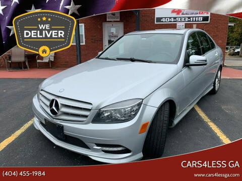 2011 Mercedes-Benz C-Class for sale at Cars4Less GA in Alpharetta GA