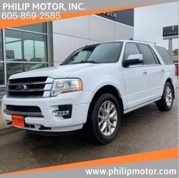 2017 Ford Expedition for sale at Philip Motor Inc in Philip SD