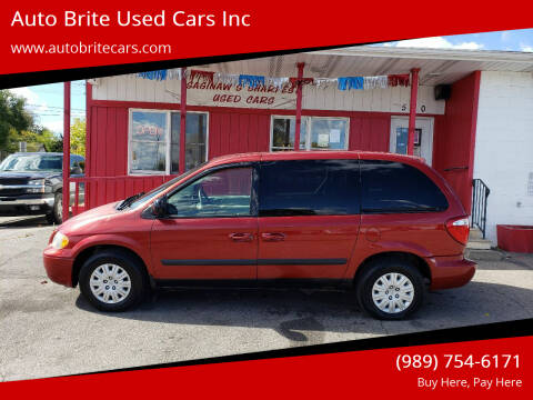 2005 Chrysler Town and Country for sale at Auto Brite Used Cars Inc in Saginaw MI