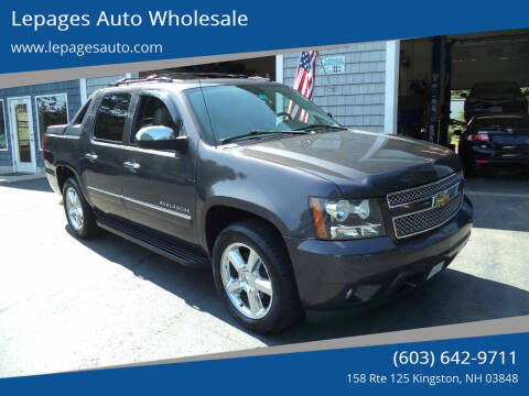 2011 Chevrolet Avalanche for sale at Lepages Auto Wholesale in Kingston NH