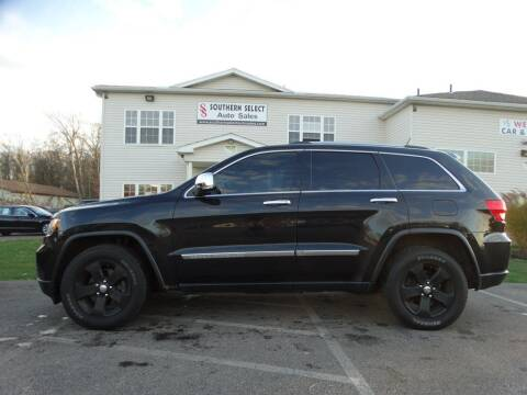2013 Jeep Grand Cherokee for sale at SOUTHERN SELECT AUTO SALES in Medina OH