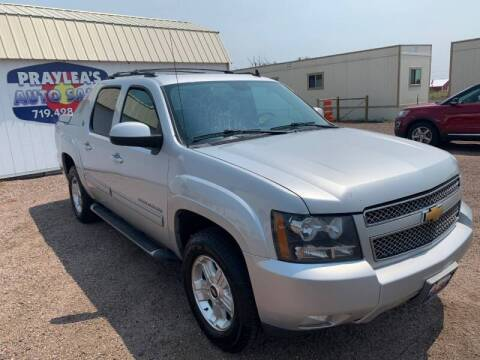 2013 Chevrolet Avalanche for sale at Praylea's Auto Sales in Peyton CO