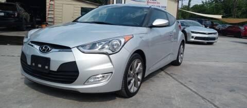 2017 Hyundai Veloster for sale at AUTOTEX FINANCIAL in San Antonio TX