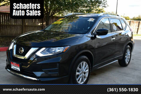 2019 Nissan Rogue for sale at Schaefers Auto Sales in Victoria TX