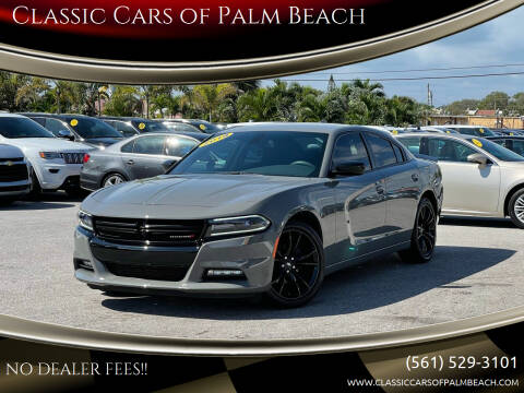 2018 Dodge Charger for sale at Classic Cars of Palm Beach in Jupiter FL