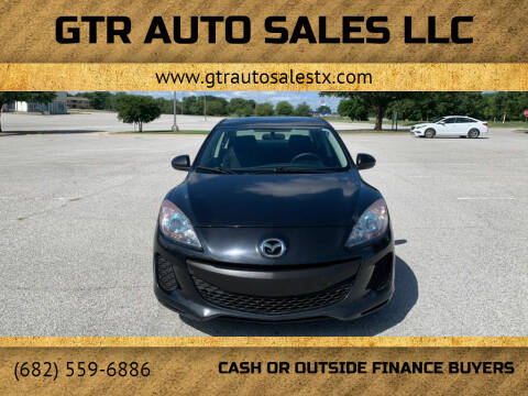 2012 Mazda MAZDA3 for sale at GTR Auto Sales LLC in Haltom City TX