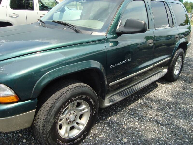 2001 Dodge Durango for sale at Branch Avenue Auto Auction in Clinton MD