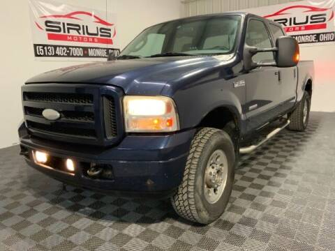 2005 Ford F-250 Super Duty for sale at SIRIUS MOTORS INC in Monroe OH