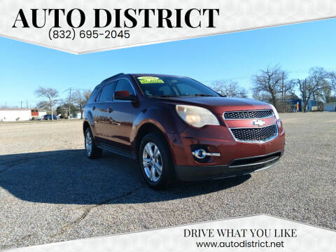 2010 Chevrolet Equinox for sale at Auto District in Baytown TX