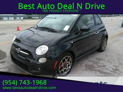 2012 FIAT 500 for sale at Best Auto Deal N Drive in Hollywood FL