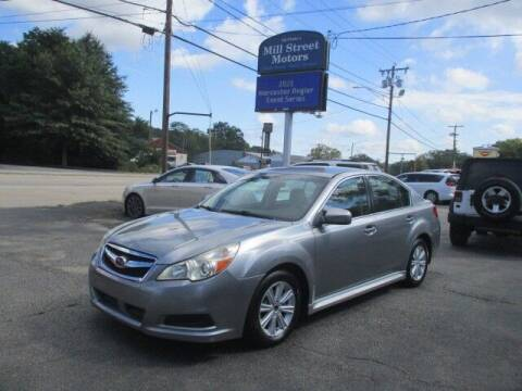 2011 Subaru Legacy for sale at Mill Street Motors in Worcester MA