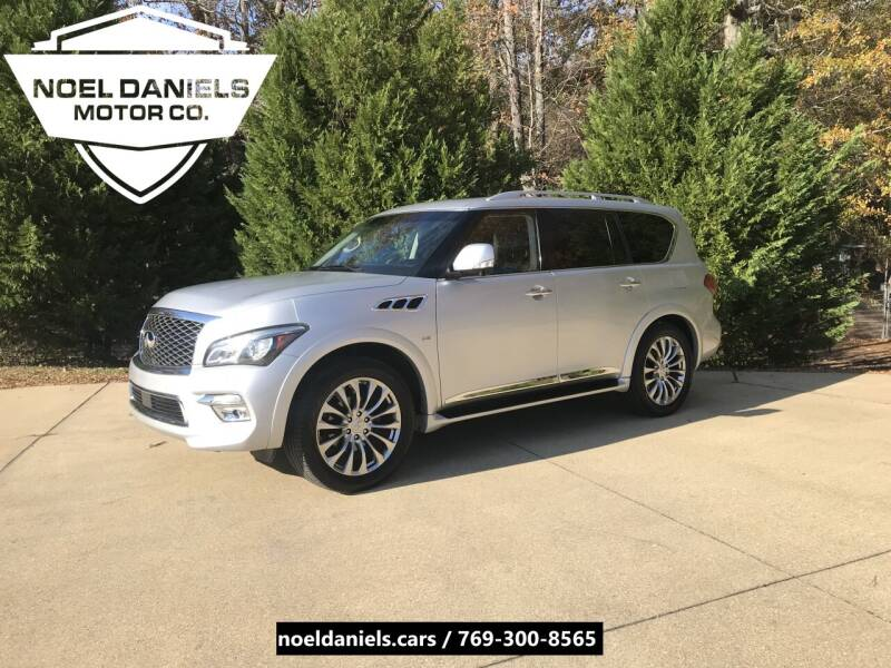 2015 Infiniti QX80 for sale at Noel Daniels Motor Company in Brandon MS
