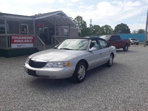 2001 Lincoln Continental for sale at Space & Rocket Auto Sales in Hazel Green AL