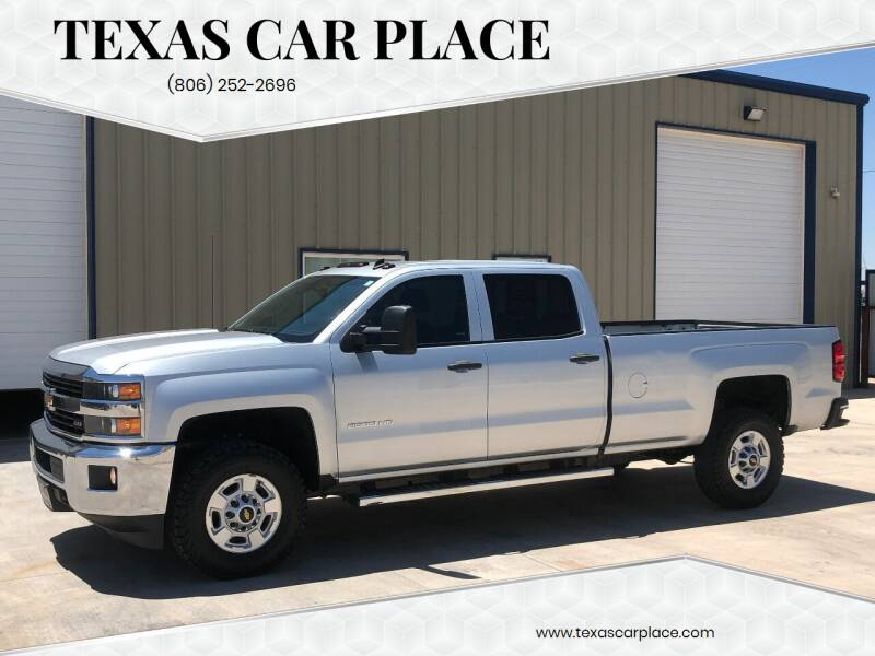 2015 Chevrolet Silverado 2500HD for sale at TEXAS CAR PLACE in Lubbock TX